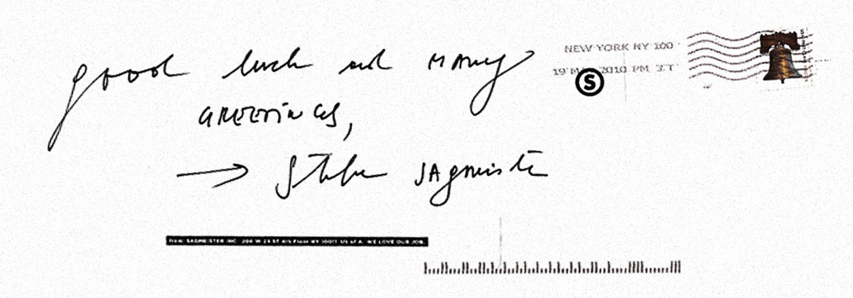 Stefan Sagmeister ByHand